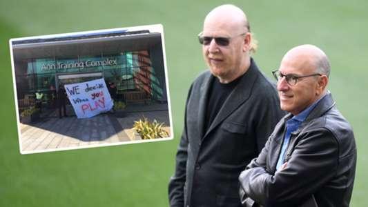 Man Utd fans enter Carrington club training ground to protest Glazer ownership