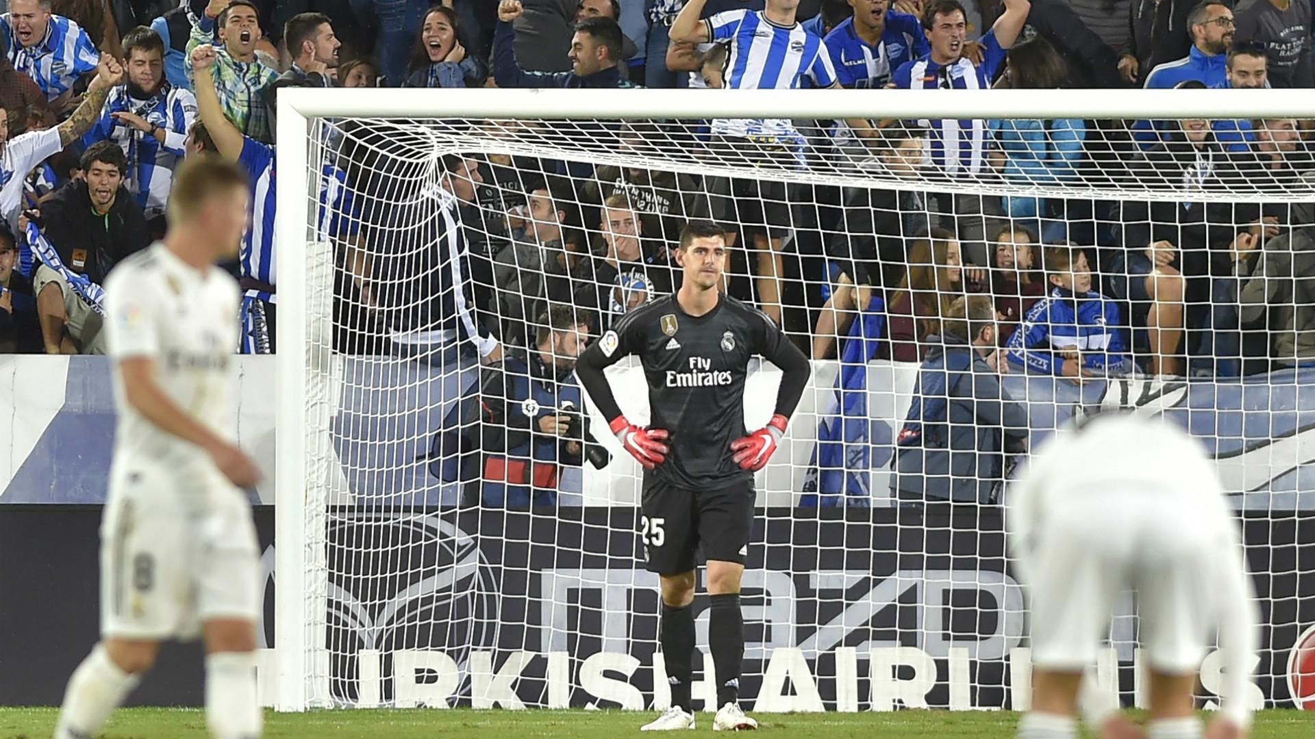 Thibaut Courtois, Real Madrid v Alaves, 2018