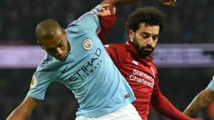 Fernandinho Mohamed Salah Manchester City Liverpool 2018-19