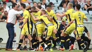 Kwabena Appiah Central Coast Mariners v Adelaide United A-League 05022016