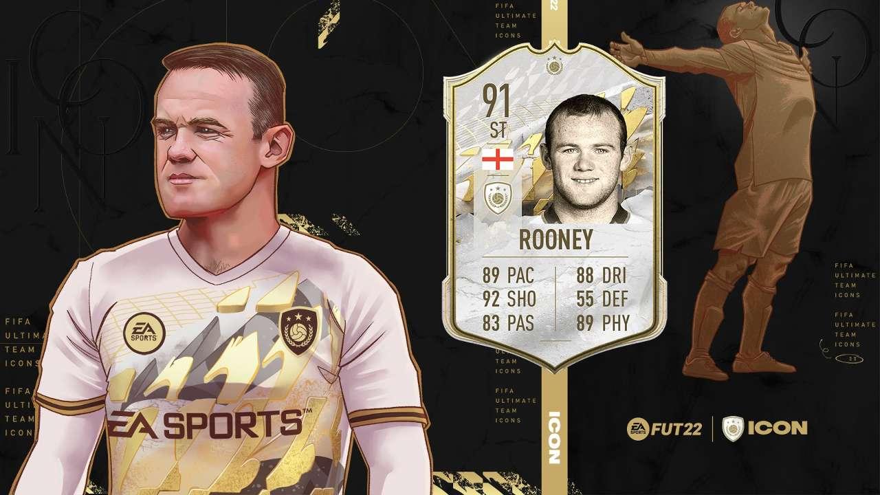 Wayne Rooney EA FUT icon