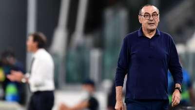 Maurizio Sarri Juventus vs Lyon 08.07.2020