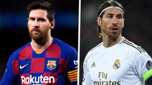 Lionel Messi Barcelona Sergio Ramos Real Madrid 2019-20