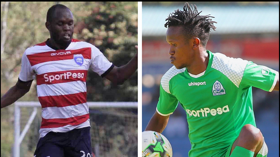 Francis Kahata v Wyvonne Isuza of Gor Mahia and AFC Leopards.