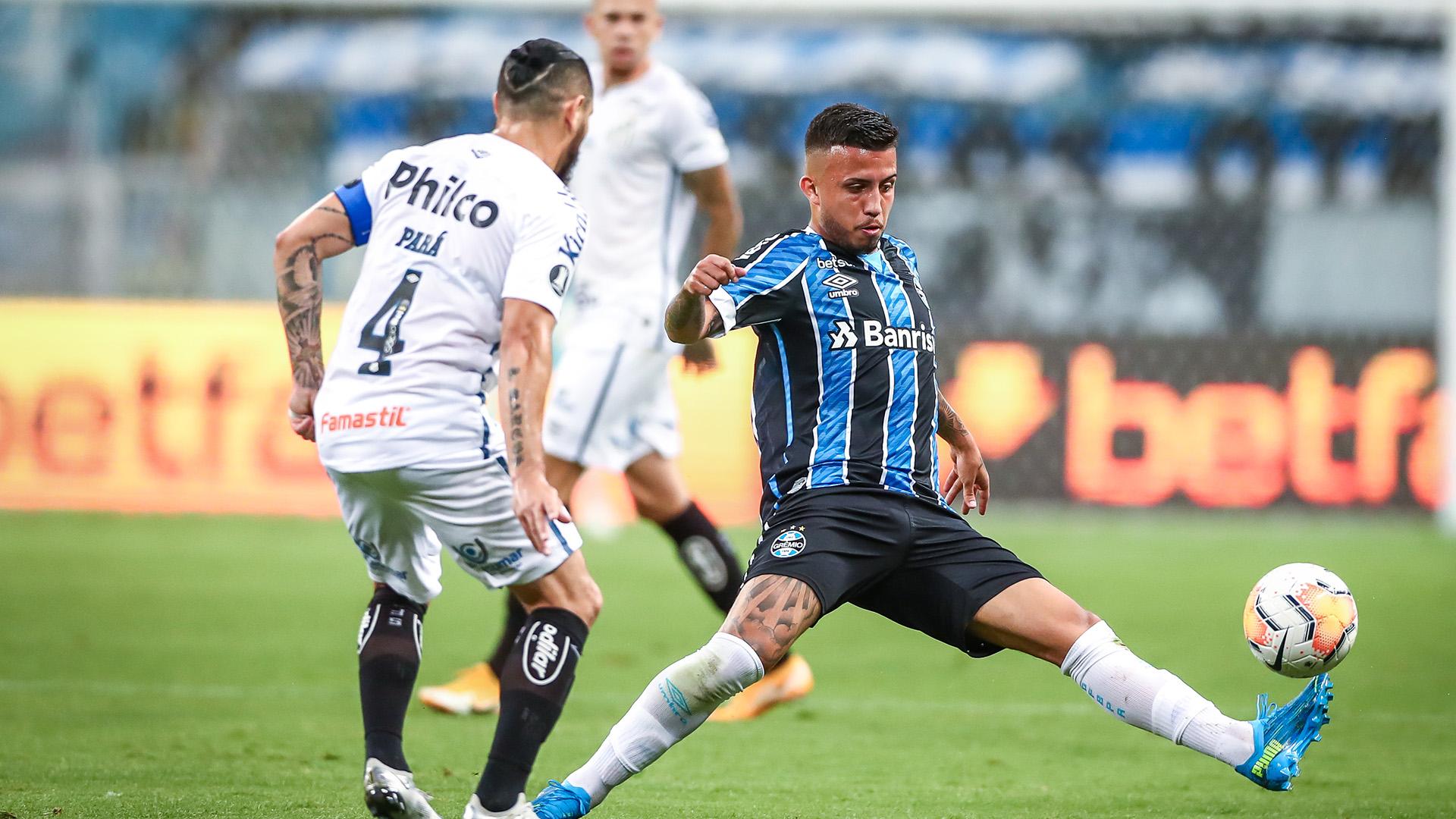 Grêmio 1 x 1 Santos: Peixe cede empate ao Tricolor gaúcho no fim e deixa  decisão para o jogo de volta | Goal.com