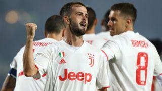 Pjanic Brescia Juventus Serie A