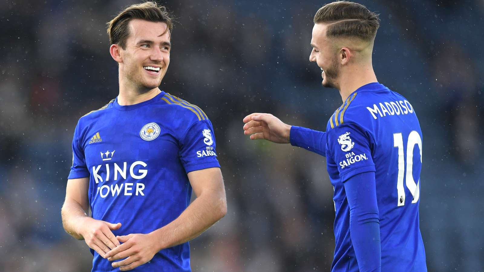 Ben Chilwell James Maddison Leicester City 2019-20