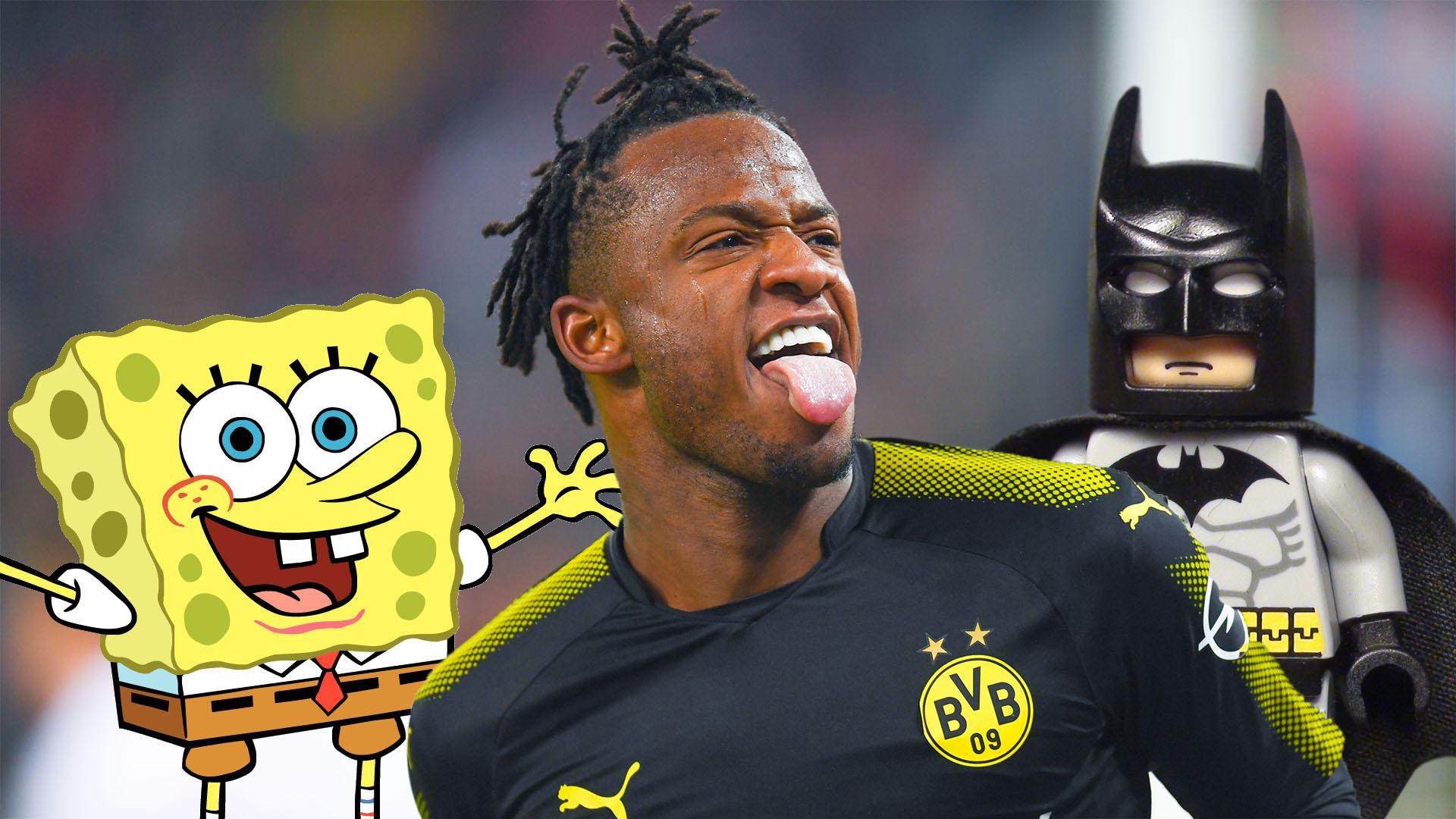 Michy Batshuayi Reveals How Spongebob And Batman Helped Him To Sign For Borussia Dortmund Goal Com