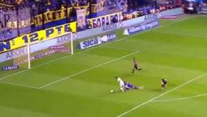 CAPTURA penal Villa Boca Colon Superliga 30092018