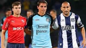 Pablo Cholo Guiñazu Guillermo Farre Nicolas Tagliafico Belgrano Talleres Independiente Primera Division 19042017