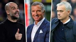Pep Guardiola, Graeme Souness, Jose Mourinho
