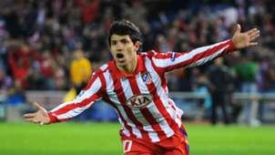 Sergio Aguero Atletico Madrid