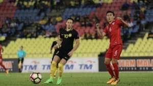 Darren Lok, Malaysia, Hong Kong, Asian Cup qualifier