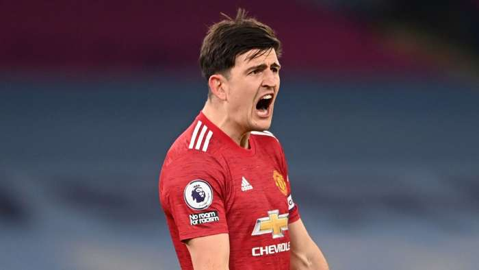Harry Maguire Man Utd 2020-21