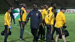 Steve Komphela and Kaizer Chiefs technical bench