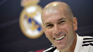 Zidane, Real Madrid coach, in press conference