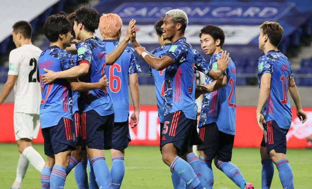 Japan football team; 2022 World Cup qualifiers