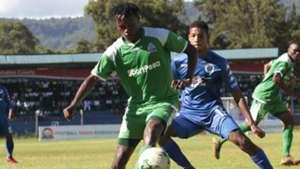 FRANCIS KAHATA of Gor Mahia and JAMIE WEBBE of SUperSport United.
