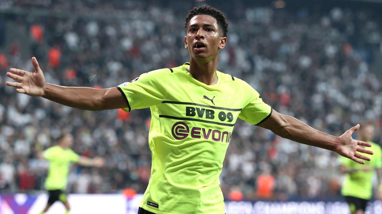 Jude Bellingham, Besiktas vs Dortmund, Champions League 2021-22
