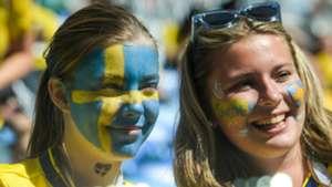 美女サポワールドカップ_スウェーデンvsスイス_スウェーデン1