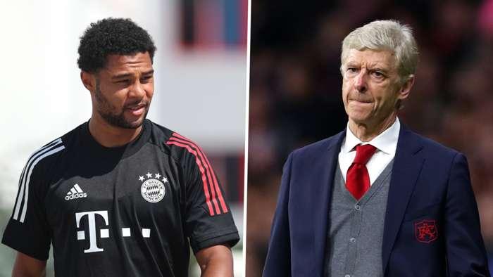 Gnabry/Wenger split