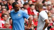 Leroy Sane Pep Guardiola Manchester City 0819