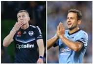 Besart Berisha Melbourne Victory Bobo Sydney FC A-League