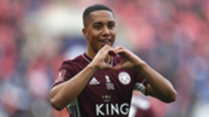 Youri Tielemans joie finale FA Cup cropped