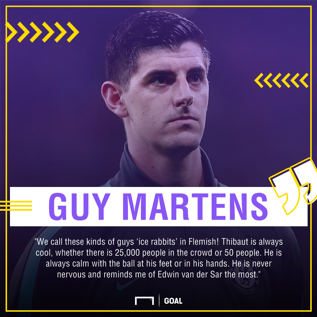 Thibaut Courtois Guy Martens PS