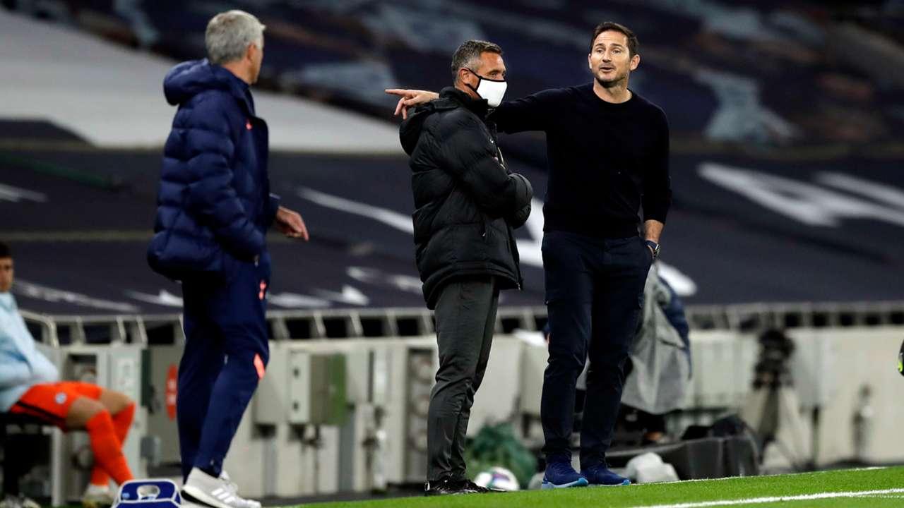 Frank Lampard Jose Mourinho Chelsea Tottenham 2020-21