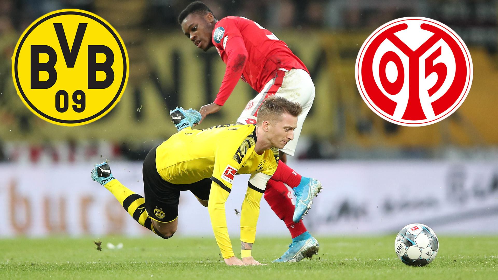 Bvb Borussia Dortmund Mainz 05 Heute Im Live Stream Und Tv Sehen So Geht S Goal Com