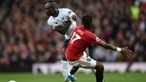 Sadio Mane Fred Manchester United Liverpool