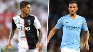 Joao Cancelo Danilo Juventus Man City split