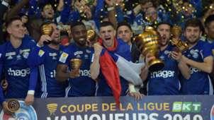 Strasbourg Guingamp Coupe de la Ligue 30032019
