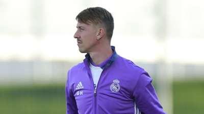Real Madrid U19 coach Guti