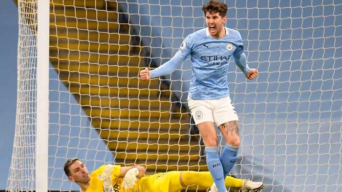 John Stones Manchester City 2020-21