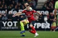 Lucas Deaux Romain Thomas Guingamp Angers Ligue 1 23022019