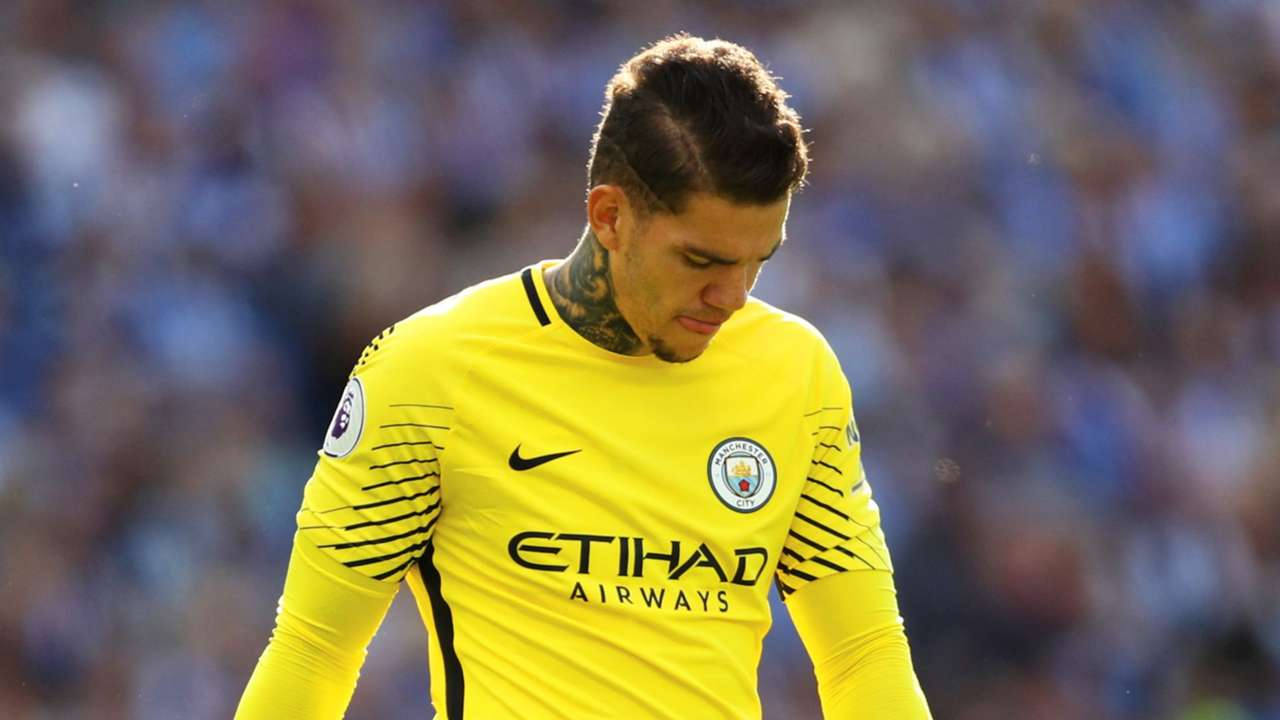 Ederson Brighton and Hove Manchester City Premier League 13082017
