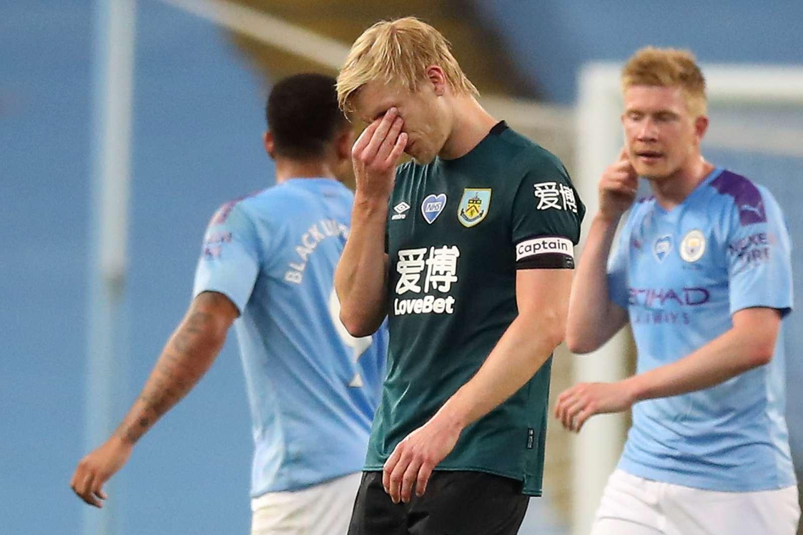 Mee Burnley Manchester City 2020