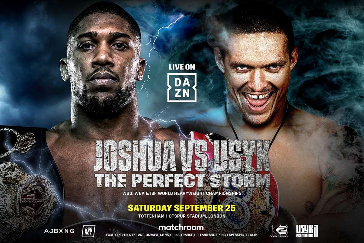 Anthony Joshua vs. Oleksandr Usyk Full Fight Replay
