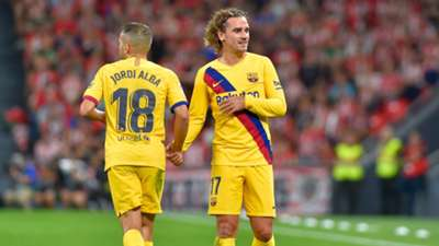 Jordi Alba Griezmann Athletic Club Barcelona LaLiga