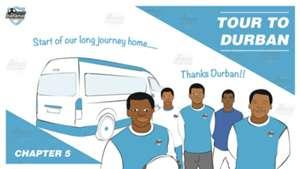 Young Bafana tour to Durban