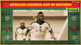 African Legends Cup of Nations: Asamoah Gyan