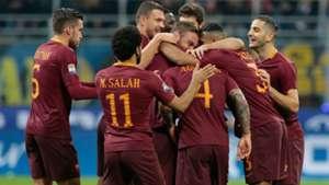 Roma players celebratings vs Inter Serie A 26022017