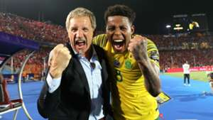 Stuart Baxter & Bongani Zungu, South Africa, July 2019