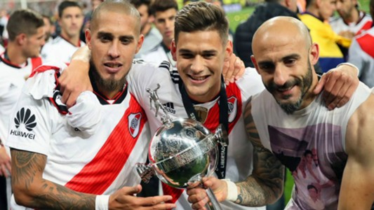 Maidana Martinez Quarta Pinola River Plate Copa Libertadores 2018