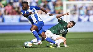 Mubarak Wakaso sees red while Alaves are thrashed by Granada