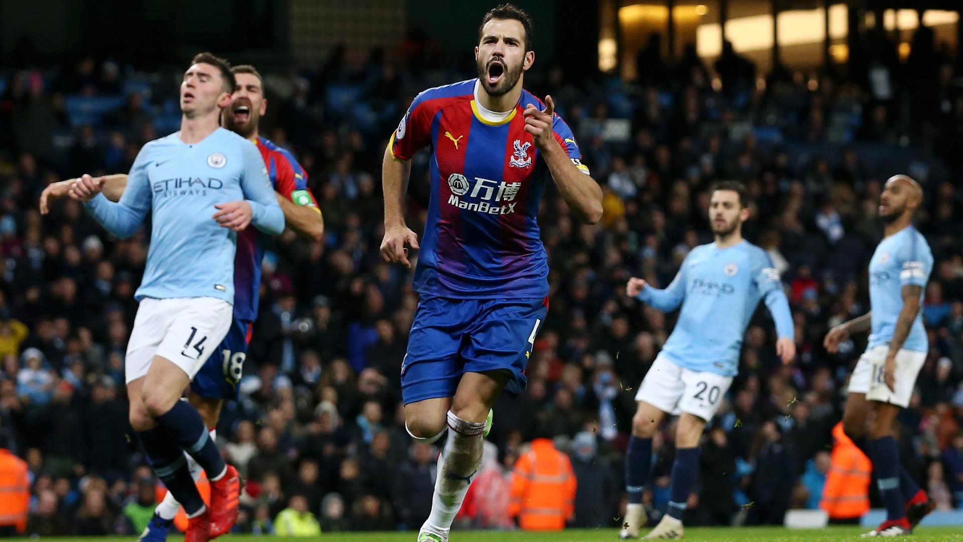 Luka Milivojevic Manchester City Crystal Palace EPL 12222018