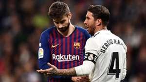 Sergio Ramos Gerard Pique Real Madrid Barcelona LaLiga 02032019