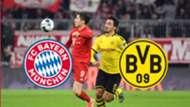 ONLY GERMANY GFX Fußball heute live TV LIVE-STREAM FC Bayern München BVB Borussia Dortmund Supercup 2020